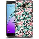 Officiel Charlotte Winter Cherry Blossom Vert Floral Étui Coque D'Arrière Rigide Pour Samsung Galaxy A3 (2016)