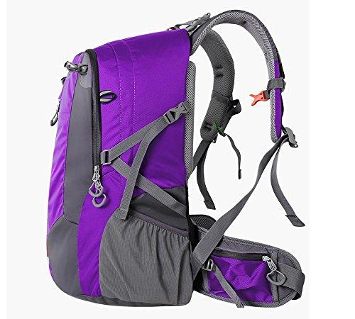 Outdoor-Tasche Schulter Klettern neue 2016 für Männer und Frauen-Tourismus Wanderrucksack Rucksack 40 l Purple