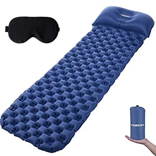 Tarent Isomatte, Luftmatratze Ultraleicht Kleines Packmaß, Campingmatratze und Isomatten, Schlafmatte für Outdoor, Reise, Strand (Schlafsack Pad)