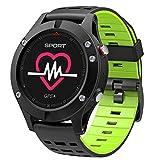 smart watch F5, Fitness Tracker, Sportuhr HöHenmesser/Barometer / Thermometer Eingebaute GPS, FüR Android Und Ios - DREI Farben Optional