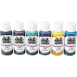1-oz. Color Splash! Liquid Watercolors (set of 6)