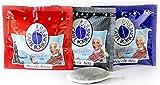3x50 cialde Caffè Borbone (PACCO DEGUSTAZIONE 50 CIALDE MISCELA NERA, 50 BLU E 50 RED ) immagine