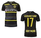 Trikot Borussia Dortmund 2016-2017 Away (Aubameyang 17, S)