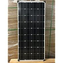 enjoysolar® Mono 100W Solar Modul 12V Solar Panel Monokristallines 100W ideal für Wohnmobil, Gartenhäuse, Boot