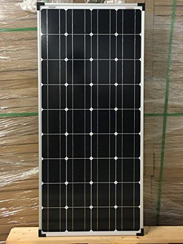 Preisvergleich Produktbild enjoysolar® Mono 100W Solar Modul 12V Solar Panel Monokristallines 100W ideal für Wohnmobil, Gartenhäuse, Boot