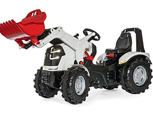 Rolly Toys New Holland T7 Pedal Traktor mit Frontlader und Luftreifen