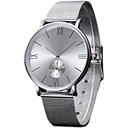 FEITONG HOT Bracelet Watch, Women's Crystal Stainless Steel Analog Quartz Wrist Watch