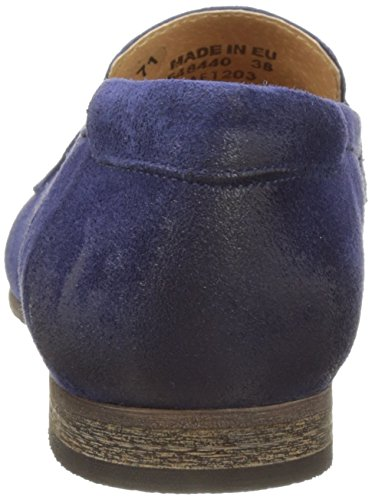 Kickers Damen Galluchat Slipper Blau (Marineblau)