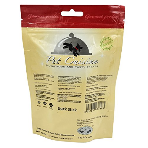 Pet-Cuisine-Dog-Training-Snacks-Puppy-Chews-Jerky-Treats-Duck-Stick-100g