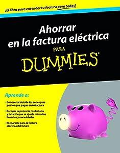 """Resultat d'imatges per a """"ahorrar en la factura electrica para dummies"""""""