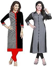 Kurti For Womens Rensila ( Kurti For Women Latest Design Party Wear Kurti For Girls Stylish Kurtis For Girls New... - B07CJFTCW2