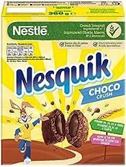 Nesquik Cocoa Crush Fagottini di Cereali Integrali con Ripieno al Cacao 360 g