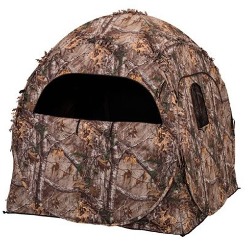 b7d1b7a2a50eb Ameristep Doghouse Ground Blind, Two Man Hunting Blind in Realtree Xtra Camo  (Previous Generation
