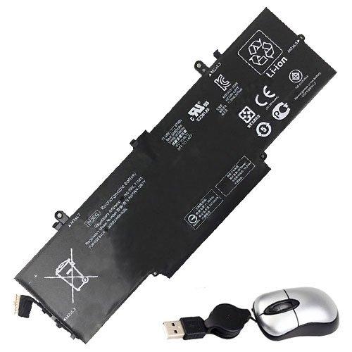 Amsahr BE06XL-05 - Batería de reemplazo para HP BE06XL, 918045-271, HP 918180-855, HP HSTNN-DB7Y (Incluye Mini ratón óptico) Color Gris