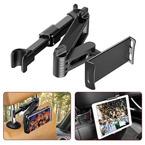 Verstellbar Tablet Halterung Auto, FAPPEN Universal Tablet Halterung : KFZ-Kopfstützen Halterung für Pad Air Mini 2 3 4, Pad 2018 Pro 9.7, 10.5, Fire Kids 7 10,Kindle,Phone und Tablet mit 4.4~11 Zoll