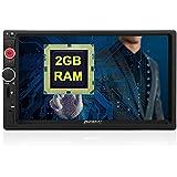 "Pumpkin 7"" Pantalla Táctil 1024*600 HD Android 5.1 Lollipop Quad Core 2GB RAM Radio Universal para Coche con GPS Navegador Soporta 1080P Vídeo/ Mirror-link / Control de Volante / 3G / WiFi / USB / SD / Bluetooth / AV-OUT"