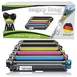 5er Pack AngryFrog® XL Toner passend für Brother TN-242 TN-246 für Brother HL-3142 CW HL-3152 HL-3172 DCP-9017 CDW DCP-9022 MFC-9142 CDN MFC-9332 MFC-9342 Schwarz je 2.500 Seiten, Color je 2.200 Seiten