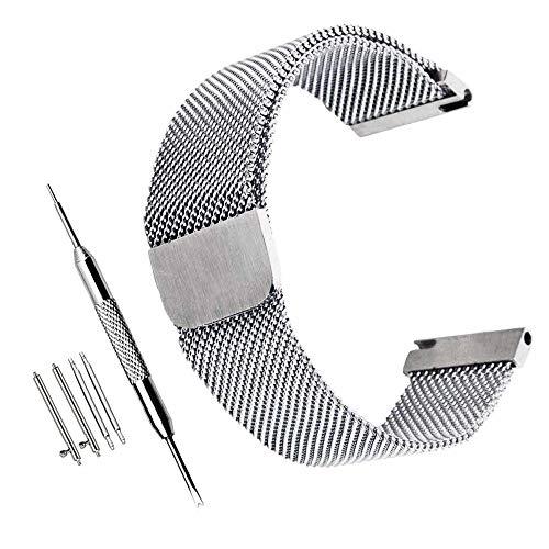 ZHUGE Unisex Pulsera Reemplazo Bucle Magnético