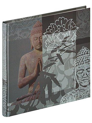 walther design FA-192-D Designalbum Buddha, 26x25 cm, grau