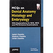 Mcqs On Dental Anatomy Histology And Embryology