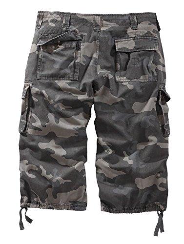 Surplus Trooper Legend Herren 3/4 Shorts Blackcamo