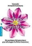 Méditation sur la perception : Dix pratiques thérapeutiques pour développer l'attention