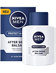 Nivea Men Protect & Care After Shave Balsam für Männer, 1er Pack (1x 100 ml)