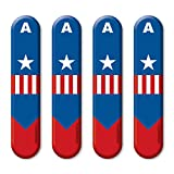 #3: Capt. America Car Styling Door Edge Guard Accessories by Autographix