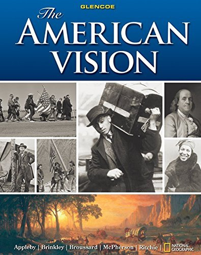 The American Vision by Joyce Appleby (2010-01-21)