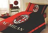 Milan 6806490P501Bettbezug für Einzelbett, Baumwolle, Rot, Single, 30x 40x 10cm