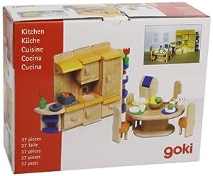 Goki 51747 - Cocina para casa de muñecas