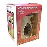 Yankee Candle – Coffret cadeau de la gamme Home Inspiration avec diffuseur à chaleur douce, cubes de cures et bougie chauffe-plat non parfumée