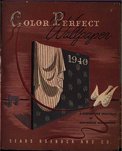 Color Perfect Wallpaper - 1940: A Distinctive Portfolio of Distinctive Wallpapers (English Edition) (Wallpaper Portfolio)