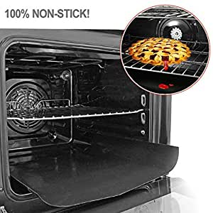 Non Stick Oven Liners Heavy Duty Teflon Cooker Liner/Grill