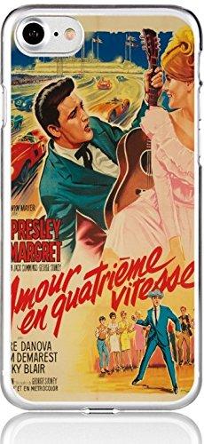 Anzeigen Vintage Florida (Blitz® VINTAGE Schutz Hülle Transparent TPU Cartoon SAMSUNG Galaxy Elvis Presley S4)