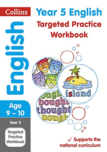 Year 5 English Targeted Practice Workbook: 2019 tests (Collins KS2 Practice) (Collins KS2 Revision and Practice) por Collins KS2