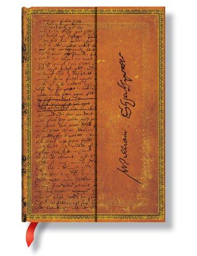 Handschriften Shakespeare More - Notizbuch Mini Liniert - Paperblanks -