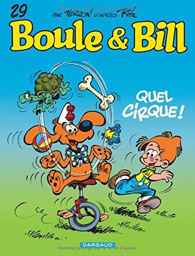 Boule & Bill, Tome 29 : Quel cirque !