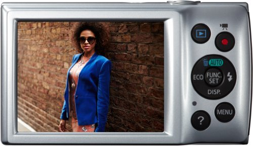 Canon IXUS 145 Digitalkamera (16 Megapixel, 8-fach opt. Zoom, 6,8 cm (2,7 Zoll) LCD-Display, HD-Ready) silber - 2