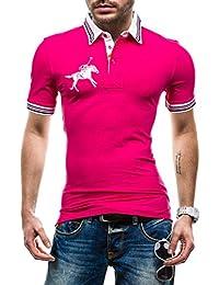 BOLF Hombre Camiseta Polo Cuello Manga Corta LT 3213