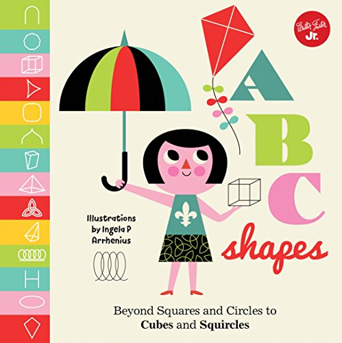 Little Concepts: ABC Shapes: Beyond Squares and Circles to Cubes and Squircles - Muster Für Cubes