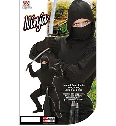 Imagen de widmann  disfraz para niños con diseño ninja, 140 cm w0264 m  alternativa
