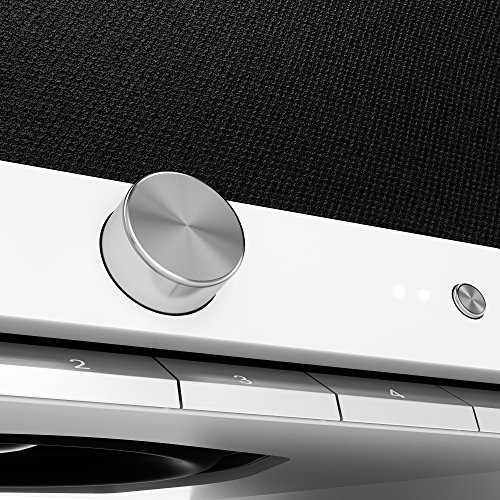 Raumfeld One M All-in-one-WLAN-Lautsprecher Weiß (Streaming, WLAN, verlustfrei, Spotify, kabellos, Multiroom) - 3