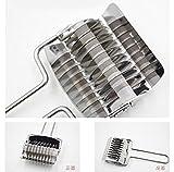 Hemore Manuelle Pasta Maschine Pasta Maker, der manuelle Noodle Maker, Pasta Spaghetti Teig Cutter Küche Kochen Tools Gebäck Werkzeug,17 * 7cm