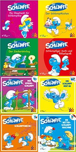 Preisvergleich Produktbild Mini-Bücher Die Schlümpfe 8er-Set Nr.1