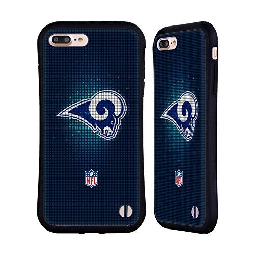 Ufficiale NFL LED 2017/18 Los Angeles Rams Case Ibrida per Apple iPhone 6 Plus / 6s Plus LED