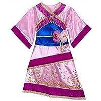 Disney Store Mulan Costume Dress XS [ 4 ] for Toddler Girls by Disney Store