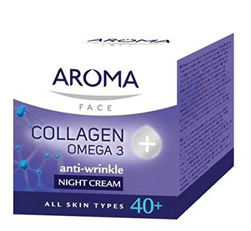 NIGHT CREAM AROMA COLLAGEN + OMEGA 3 by Aroma