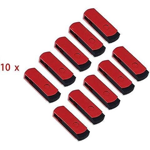 FEBNISCTE 100 pezzi 512MB(Non 512GB) USB 2,0 Pieghevole di Flash