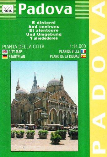 Padova. Pianta della città 1:14.000: With Neighbouring Communes (Carte stradali) por Collectif